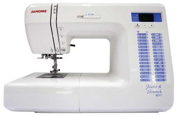 Janome 8077 jeans stretch coffret de fils coudre for Machine a coudre 4 fils 121