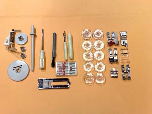 Silver el gance 4084d coffret de fils coudre madeira for Accessoire couture