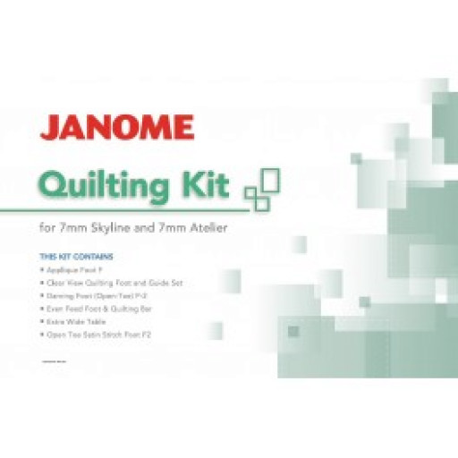 Kit Quilting Janome S3