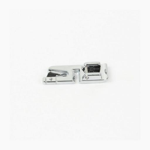Pied ourleur plat 3 mm pour la plupart des machines à coudre de marque Dorina, Texi, Gritzner, Juki, Silver, Jaguar, elna, janome, Pfaff, Husqvarna Viking, Brother et Bernette