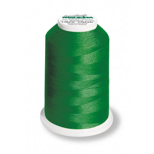 Cône de fil mousse madeira aeroflock 100% polyester 1000 m - 8500 émeraude