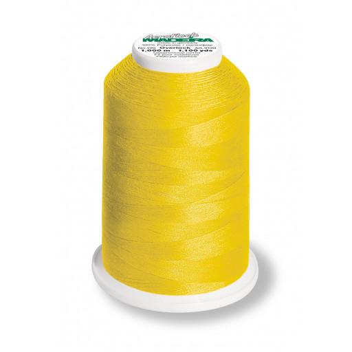 Cône de fil mousse madeira aeroflock 100% polyester 1000 m - 9360 canari