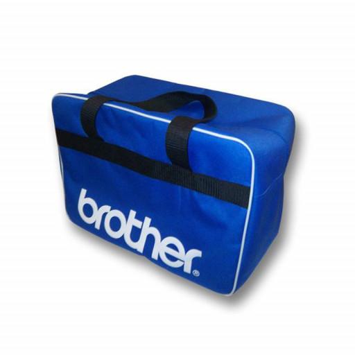 Sac de transport bleu Brother pour machine à coudre