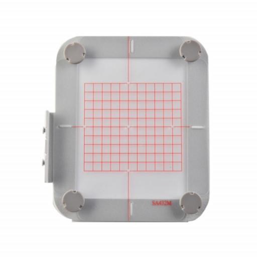 Cadre à broder magnétique adaptable 100 x 100 mm - pour Brother NV 900, 950, 955, M240ed et M280d EN STOCK !