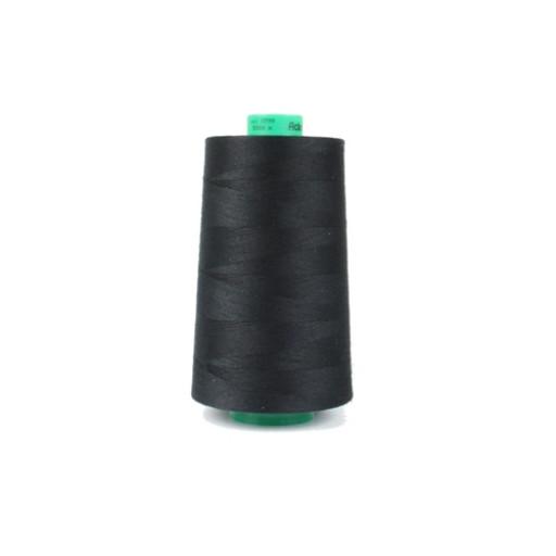Cône de fil à coudre ackermann 5000 m couleur nr. 0799 noir made in europe