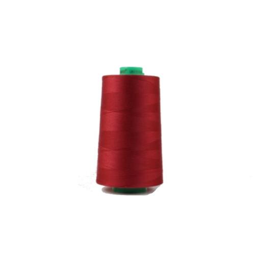 Cône de fil à coudre ackermann 5000 m couleur nr. 7143 rouge foncé made in europe