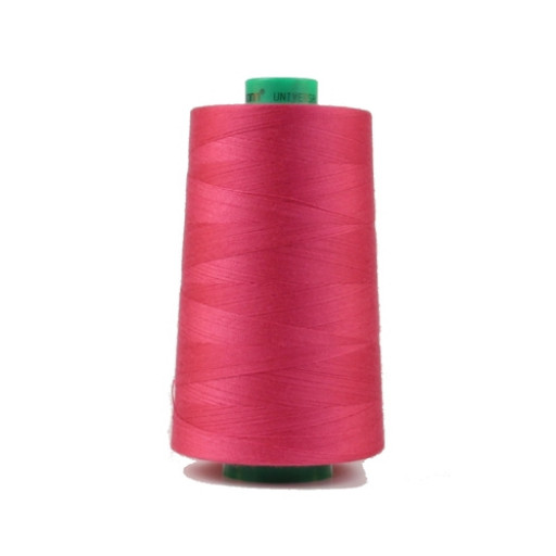 Cône de fil à coudre ackermann 5000 m couleur nr. 7182 rose fushia made in europe