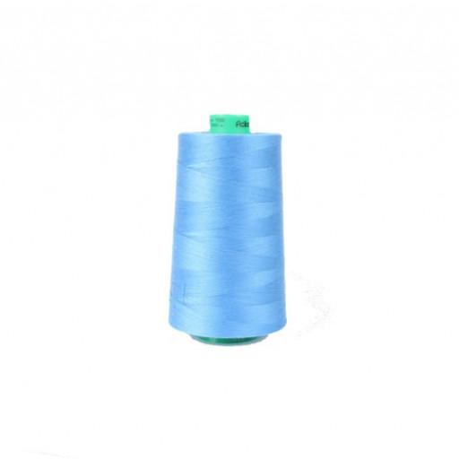 Cône de fil à coudre ackermann 5000 m couleur nr. 7282 bleu roy made in europe