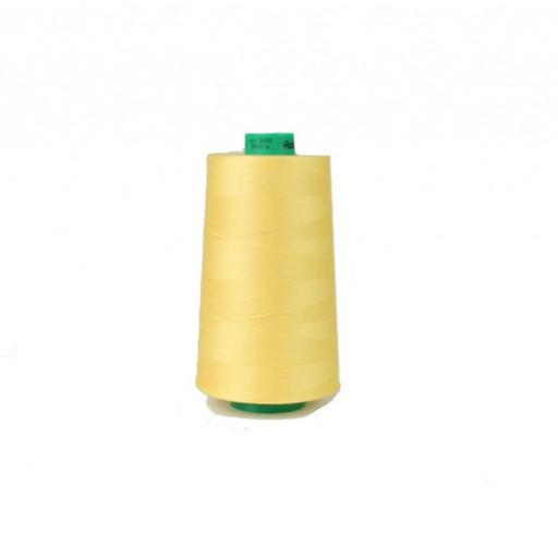 Cône de fil à coudre ackermann 5000 m couleur nr. 8003 jaune made in europe