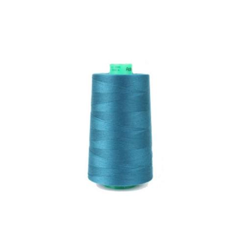 Cône de fil à coudre ackermann 5000 m couleur nr. 8045 bleu foncé made in europe