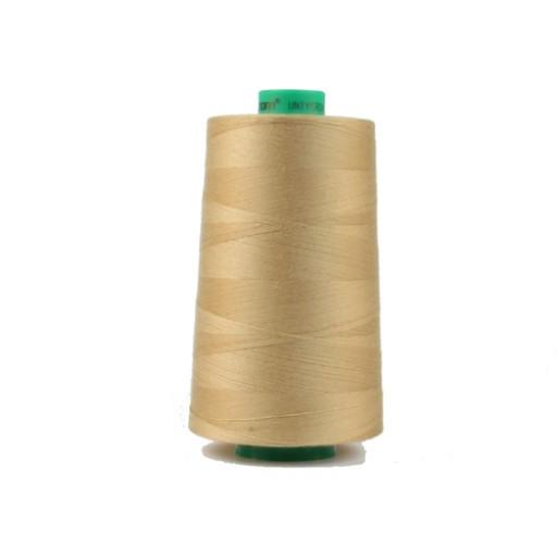 Cône de fil à coudre ackermann 5000 m couleur nr. 8065 beige foncé made in europe