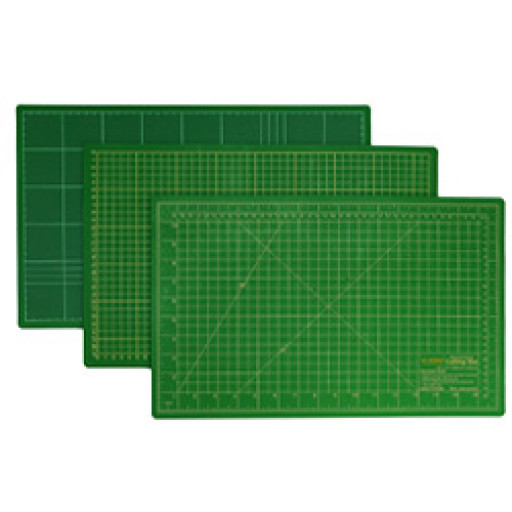 Planche de découpe patchwork SEW MATE VERTE 90 X 60 CM