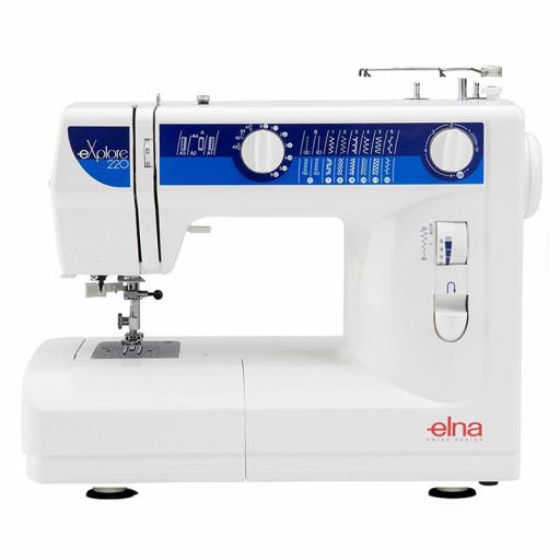 elna explore 220 Machine à coudre - Garantie 5 ans