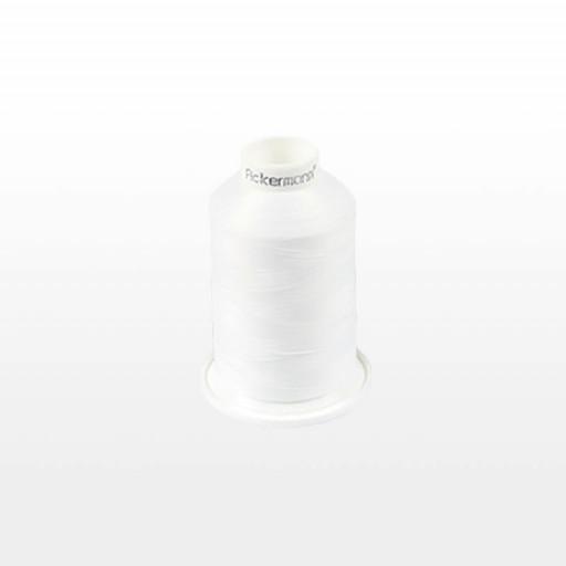 Cône de fil mousse ACKERMANN 1000m - Couleur 5000 BLANC