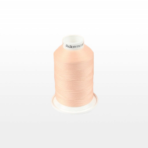 Cône de fil mousse ACKERMANN 1000m - Couleur 5110 SAUMON