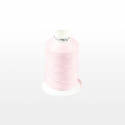 Cône de fil mousse ACKERMANN 1000m - Couleur 5117 ROSE CLAIR