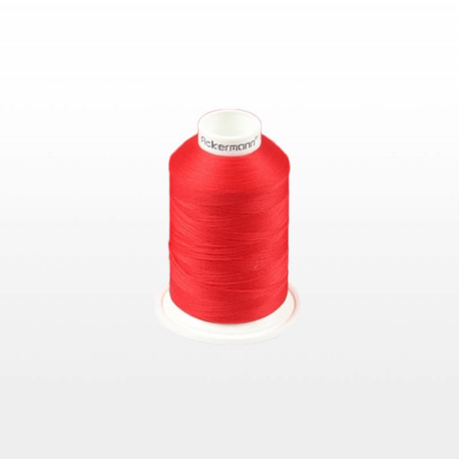 Cône de fil mousse ACKERMANN 1000m - Couleur 5140 ROUGE