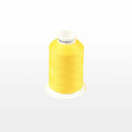 Cône de fil mousse ACKERMANN 1000m - Couleur 5230 JAUNE