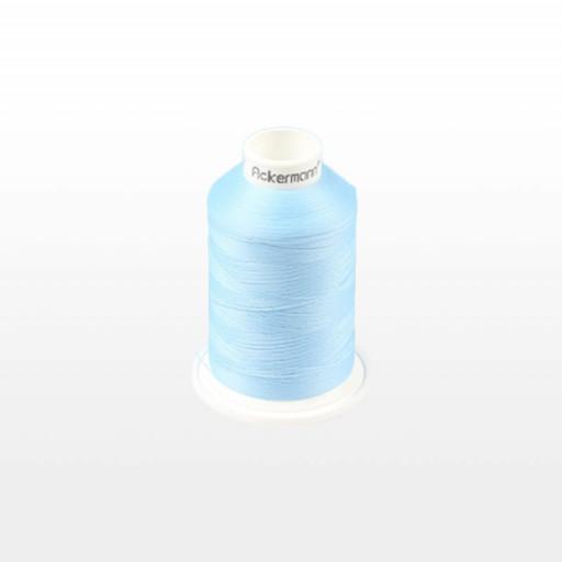 Cône de fil mousse ACKERMANN 1000m - Couleur 5323 BLEU CLAIR