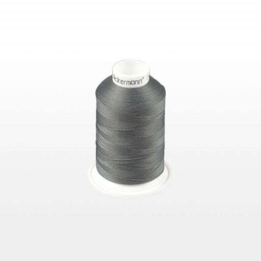 Cône de fil mousse ACKERMANN 1000m - Couleur 5816 GRIS FONCE