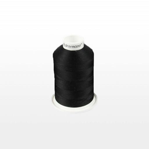 Cône de fil mousse ACKERMANN 1000m - Couleur 5999 NOIR