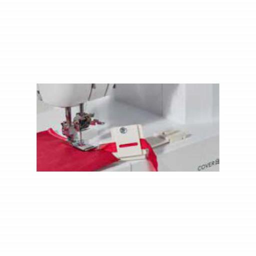 Guide pose biais 6 - 12 mm pour recouvreuse Brother CV3440 ET CV3550
