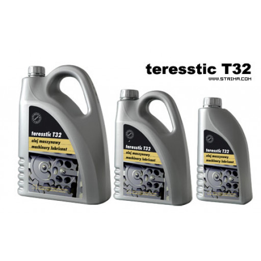 TERESSTIC T32 - Bidon d'huile minérale extra blanche 1 litre haute vitesse