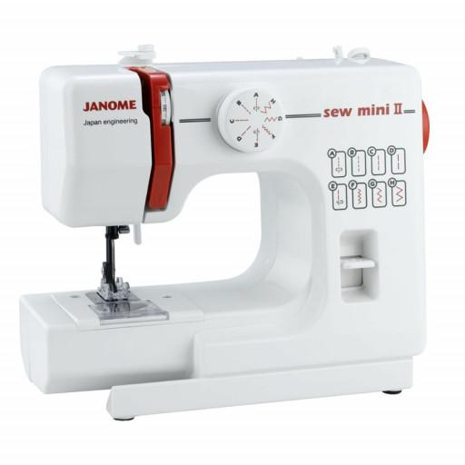 Janome Sew Mini version II Machine à coudre pour enfant