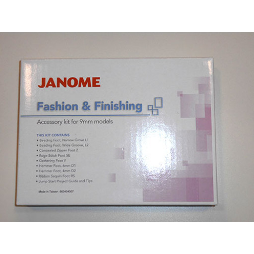 Kit Mode et Finition Janome S5, S7, 8200, 8900