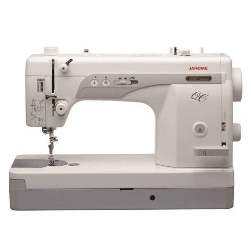 janome 1600P-QC avec grande table Quilting et coupe fil intégré + lot d'accessoires GARANTIE 10 ANS EN STOCK !