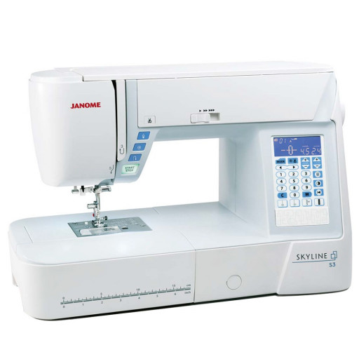 JANOME SKYLINE S3 + Table d'Extension