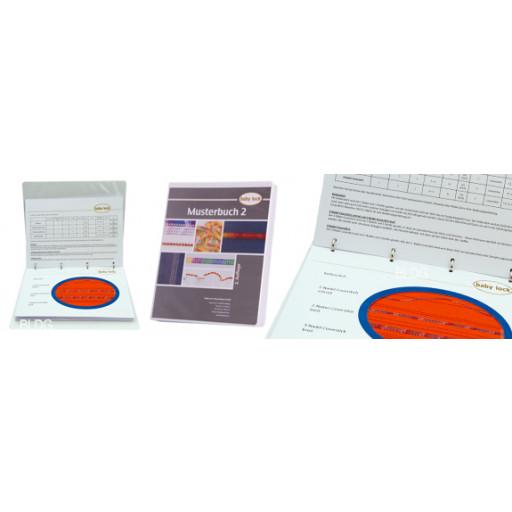 Livre d'échantillons de points spéciaux pour machines combinées surjeteuse / recouvreuse MB 2 Baby Lock - (2ème édition)