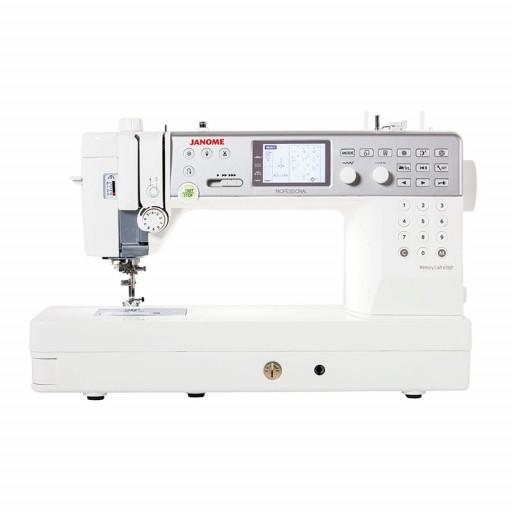 Janome Memory Craft 6700P AVEC TABLE D'EXTENSION (60 x 40cm) + LOT D'ACCESSOIRES GARANTIE 10 ANS EN STOCK !