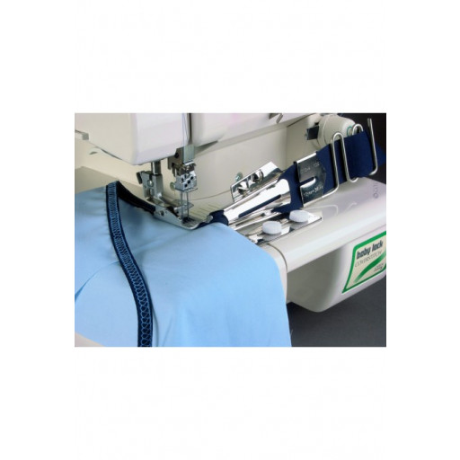 Pose-biais double-pli avec râtelier de guidage - Baby Lock - D13-3-12E