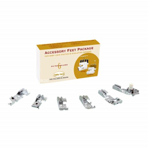 Kit de 6 pieds A6TA8 pour surjeteuse/recouvreuse baby lock