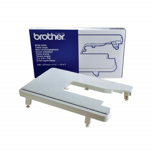 Table d'extension/allonge brother WT7 pièce d'origine pour série BC2100, BC2300, ES2000, BM2600, BM3500, XL2600, XL2100, CS10, CS70, KD40, FS40