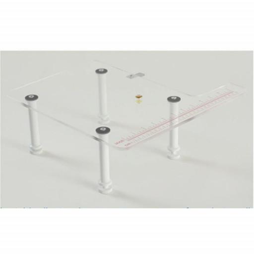 Table d'extension en plexiglass pour Juki mo-80CB