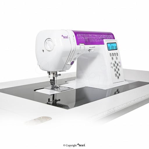 Table insert en plexiglass pour meuble de machine à coudre