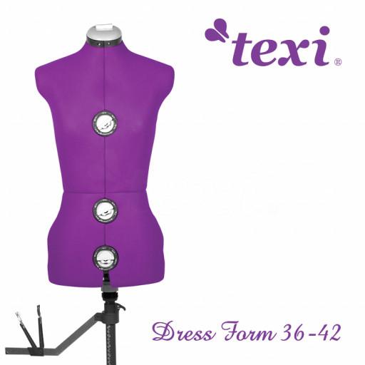 TEXI Mannequin taille S réglable 36-42 EN STOCK !