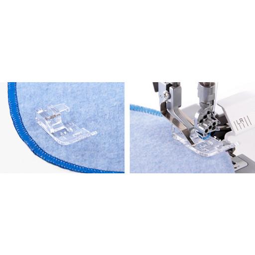 Pied pour coudre des courbes transparent MO-36062