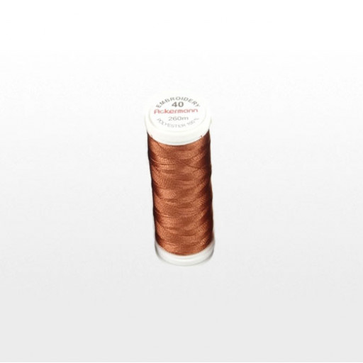 Bobine de fil à broder ACKERMANN 260m - Couleur 2887