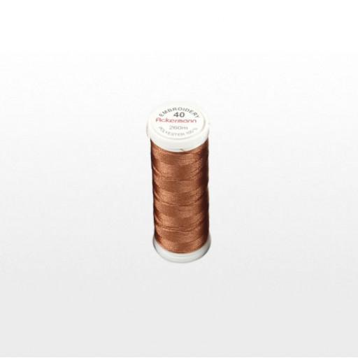 Bobine de fil à broder ACKERMANN 260m - Couleur 2970