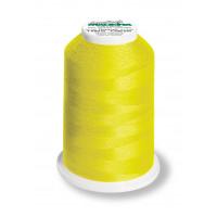 Cône de fil mousse madeira aeroflock 100% polyester 1000 m - 8230 jaune néon