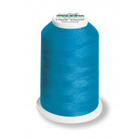 Cône de fil mousse madeira aeroflock 100% polyester 1000 m - 8941 bleu ciel