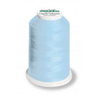 Cône de fil mousse madeira aeroflock 100% polyester 1000 m - 9320 bleu bébé