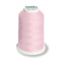 Cône de fil mousse madeira aeroflock 100% polyester 1000 m - 9915 rose bébé