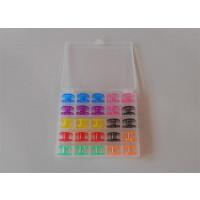 Boîte de rangement en pvc souple avec 25 canettes multicolores