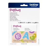 Collection de lettrage PigPong [CAPPNP01]