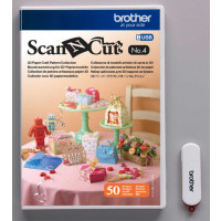 Clé USB CAUSB4 pour Brother ScanNCut