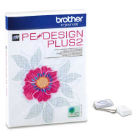 Logiciel de Broderie Brother PE Design Plus 2